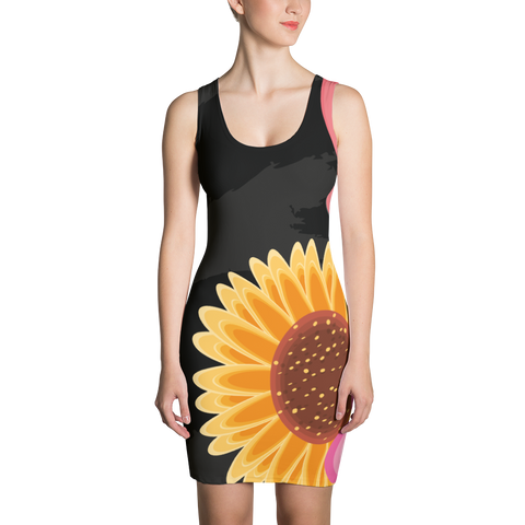 Summer Flowers - Sublimation Cut & Sew Dress