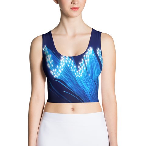 WWW - Sublimation Cut & Sew Crop Top