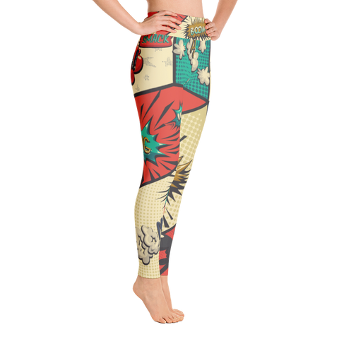 PoP Art - Yoga Leggings