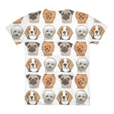 Dog - Women's V-Neck T-Shirt