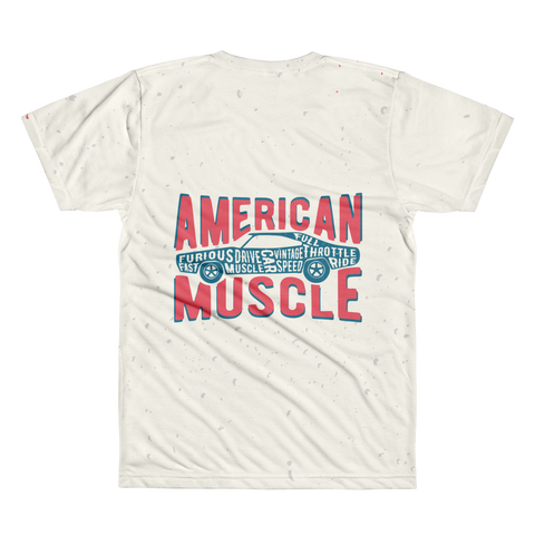 American Car - All-Over Printed T-Shirt
