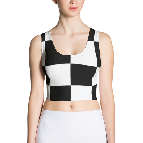 Chess - Sublimation Cut & Sew Crop Top
