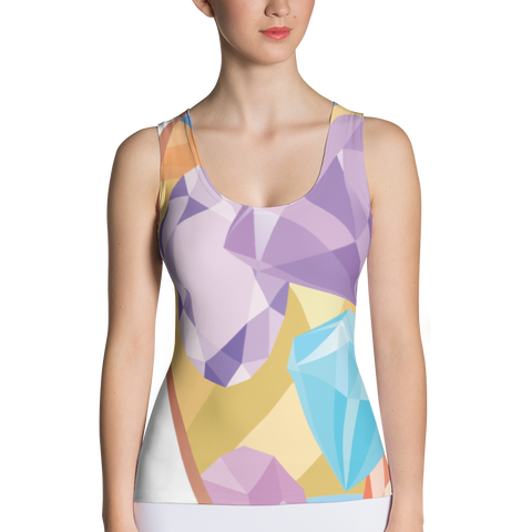 Diamond - Sublimation Cut & Sew Tank Top