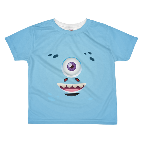 Monster friend - All-over kids sublimation T-shirt