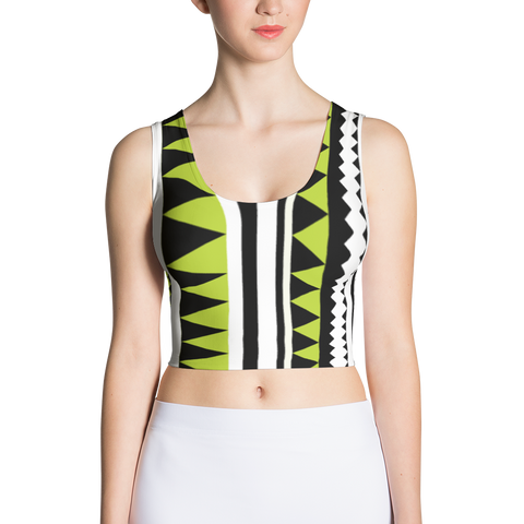 Strips - Sublimation Cut & Sew Crop Top