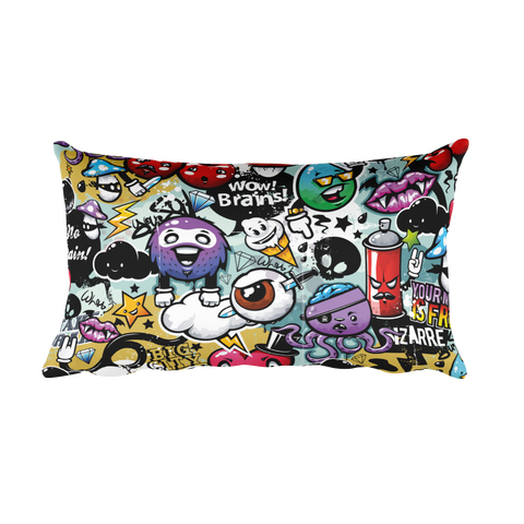 Doodle More - Rectangular Pillow