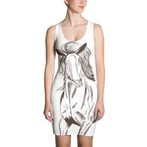 Horse - Sublimation Cut & Sew Dress