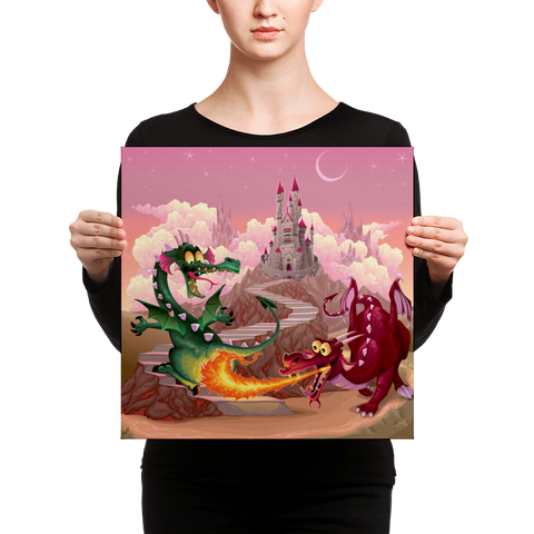 Dragons - Canvas