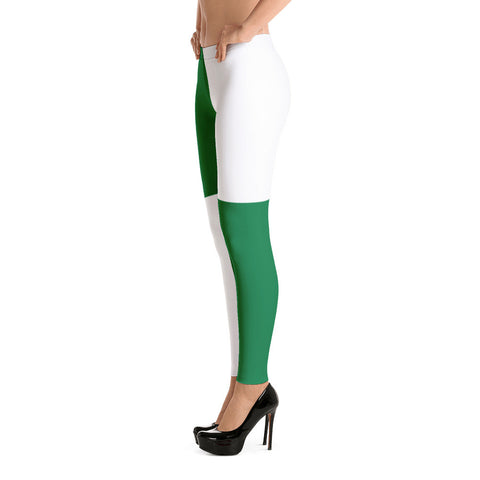 GrönVit - Leggings