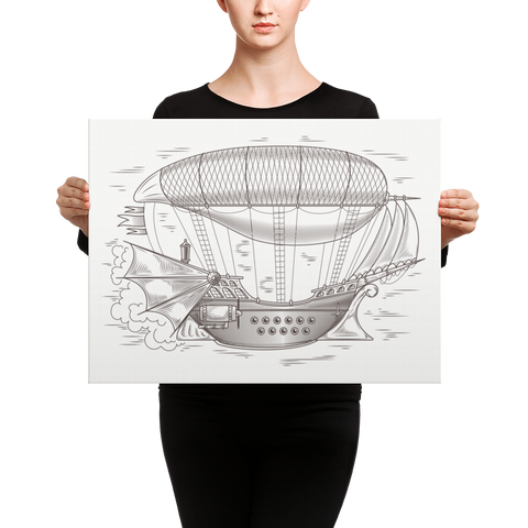 Airship - Canvas