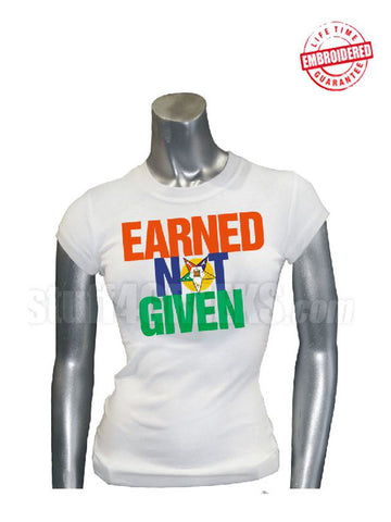 EMB-Earned Not Given-Order of the Eastern Star- Pre-Order for Atlanta Greek Picnic Pick Up At Zeus Closet