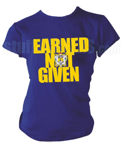DTG-Earned Not Given SGRho- Pre-Order for Atlanta Greek Picnic Pick Up At Zeus Closet