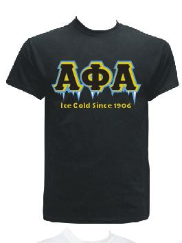 DTG-Ice Cold-Alpha Phi Alpha- Pre-Order for Atlanta Greek Picnic Pick Up At Zeus Closet