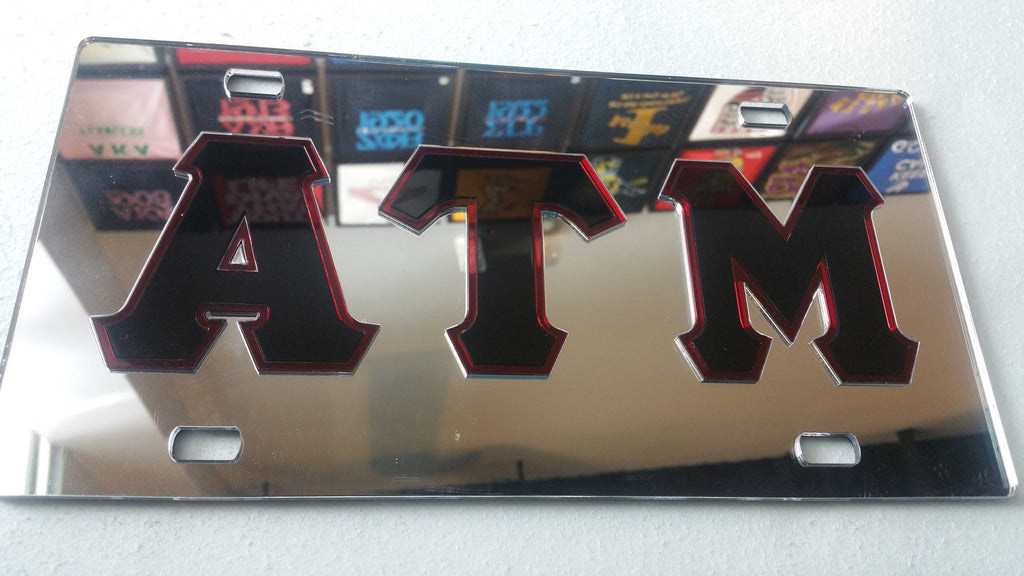 ATM License Plate