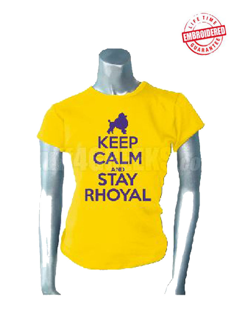 EMB Keep Calm Stay Rhoyal SGRho  Pre Order For Atlanta Greek Picnic