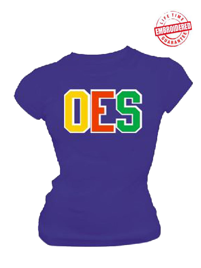 EMB-Letters(Blue)-Order of the Eastern Star- Pre-Order for Atlanta Greek Picnic Pick Up At Zeus Closet