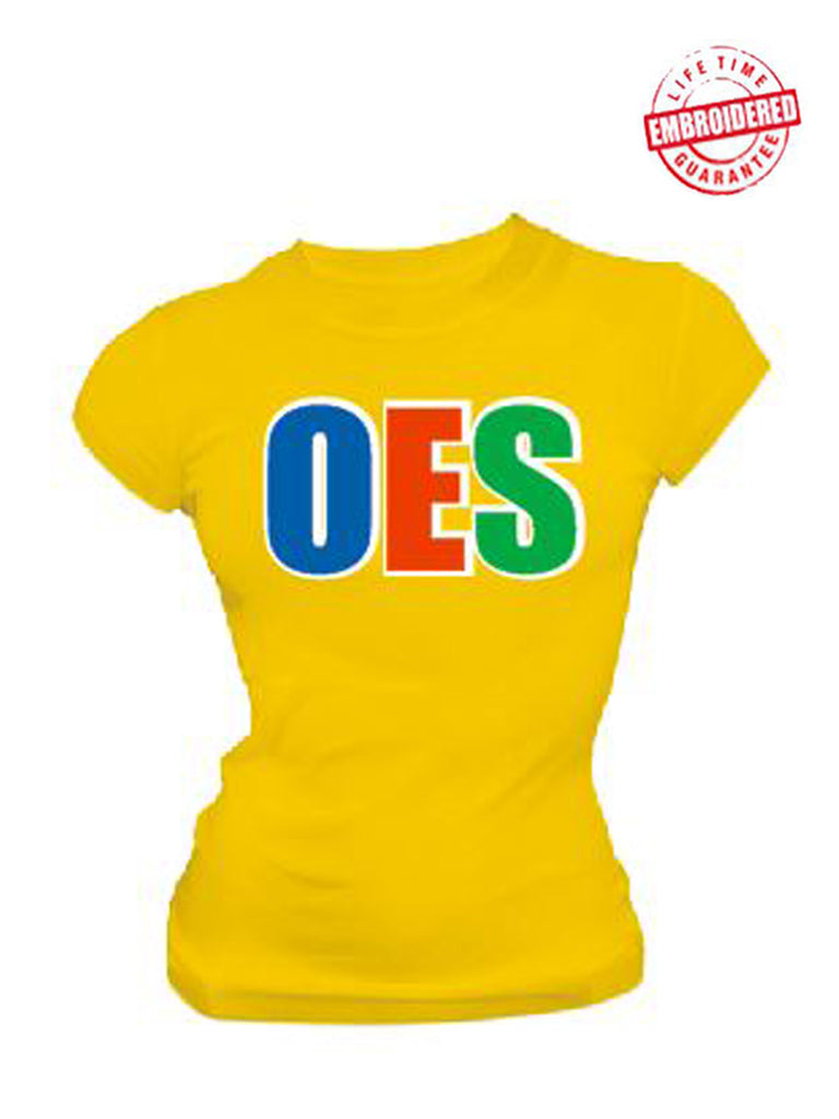 EMB-Letters(Yellow)-Order of the Eastern Star- Pre-Order for Atlanta Greek Picnic Pick Up At Zeus Closet