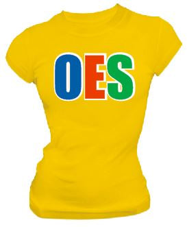 DTG-Letters(Yellow)-Order of the Eastern Star- Pre-Order for Atlanta Greek Picnic Pick Up At Zeus Closet