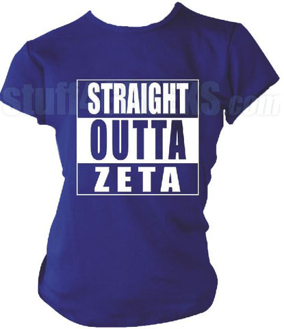 DTG-Straight Outta Zeta Phi Beta- Pre-Order for Atlanta Greek Picnic Pick Up At Zeus Closet