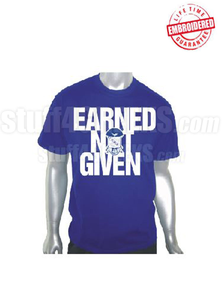 EMB-Earned Not Given-Phi Beta Sigma- Pre-Order for Atlanta Greek Picnic Pick Up At Zeus Closet