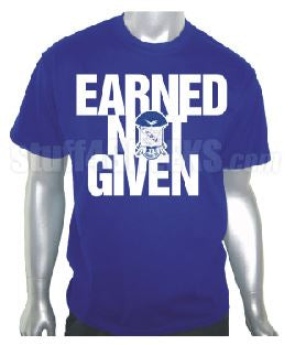 DTG- Earned Not Given-Phi Beta Sigma- Pre-Order for Atlanta Greek Picnic Pick Up At Zeus Closet