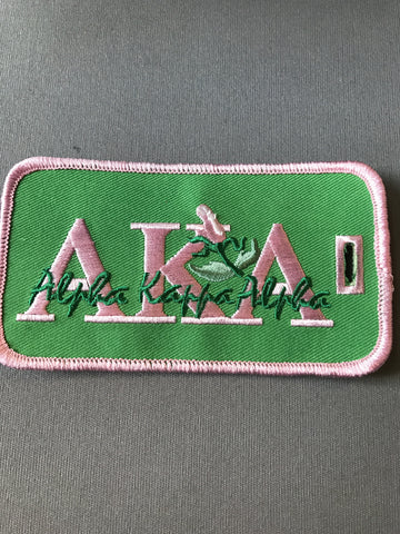 Alpha Kappa Alpha Luggage Tag