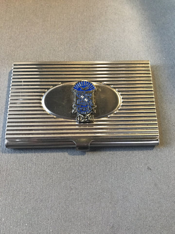 Phi Beta Sigma Business Cardholder
