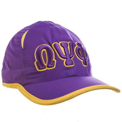Omega Featherlight Golf Cap, Purple (One Size)
