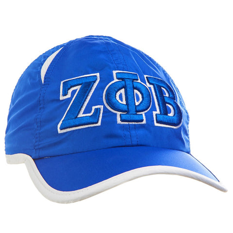 Zeta Featherlight Golf Cap, Royal Blue (One Size)