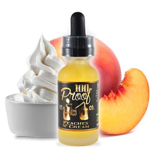 Peaches n' Cream-E-Juice-100 Proof Vape-EraVape