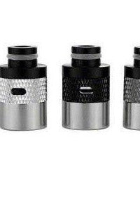 Aluminum Drip Tip with Airflow Control Black