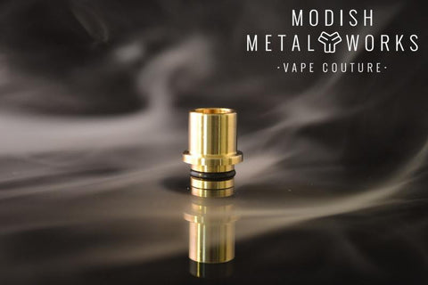 Modish Metal Works - Leroux-Drip Tip-Modish Metal Works-Stainless Steel-EraVape