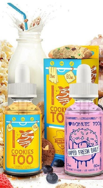 I Love Cookies & Donuts Sample Pack-E-Juice-Mad Hatter-30ml-0 mg-EraVape