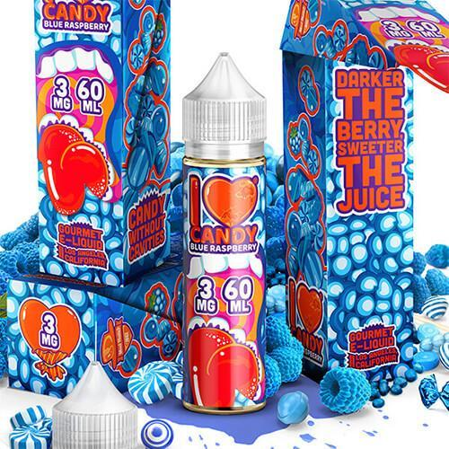I LOVE CANDY - BLUE RASPBERRY-E-Juice-I Love Candy-EraVape