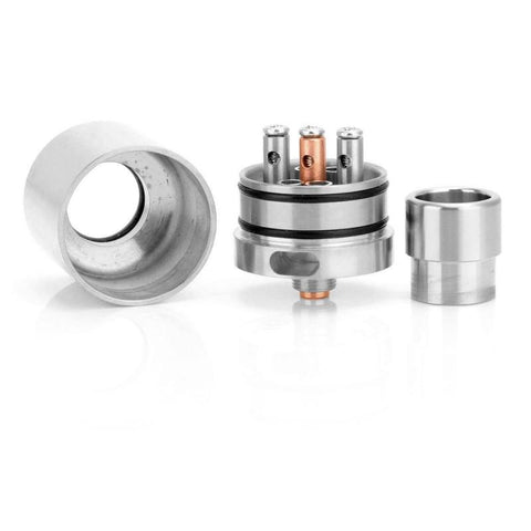 Kennedy 24 RDA - silver stainless steel