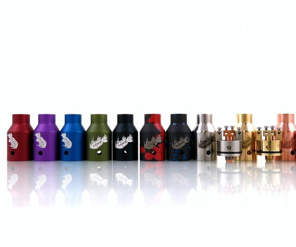 Continuous Current - Payload RDA-Atomizers-Continuous Current-Red Anodized-Brass-EraVape