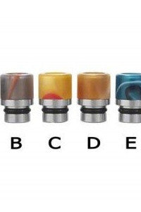 Stainless Steel & Acrylic Short Drip Tip-ACCESSORIES-Aspire-A-EraVape