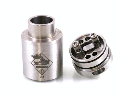 Flawless - Tugboat 24-Atomizers-Flawless-Stainless Steel-EraVape