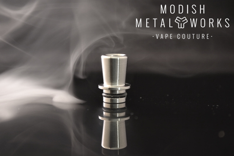 Modish Metal Works - Vionnet-Drip Tip-Modish Metal Works-Stainless Steel-EraVape