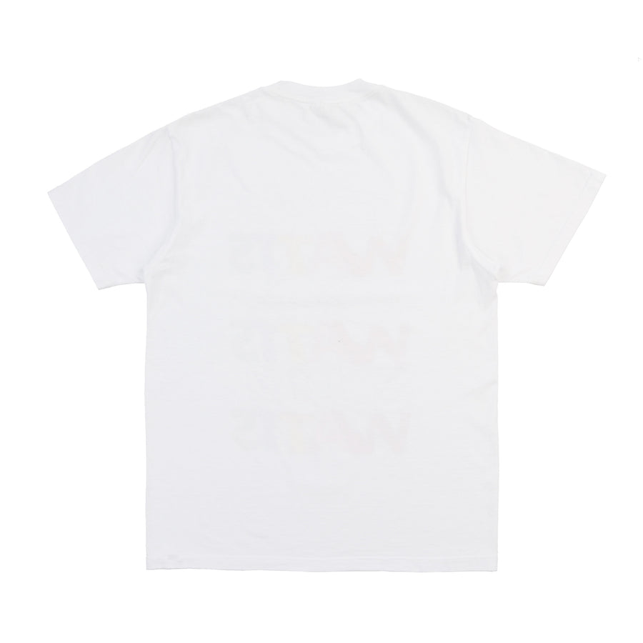 BAR LOGO T-SHIRT WHITE