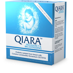 Qiara™ Pregnancy and Breastfeeding Probiotic oral powder sachets