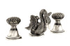 Antarctica Swan double handle widespread bathroom sink faucet.