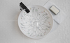 Floral I bathroom vessel sink designed by Claudia Iza