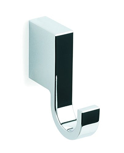 Bilbao chrome towel hook