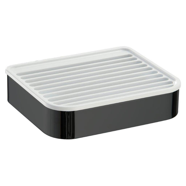 Yass matte black wall soap dish