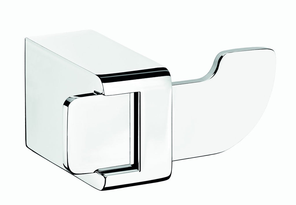 Alice polished chrome towel hook. Hanger