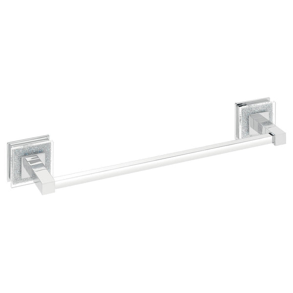 Alexa towel bar with Swarovski crystals. Towel rail