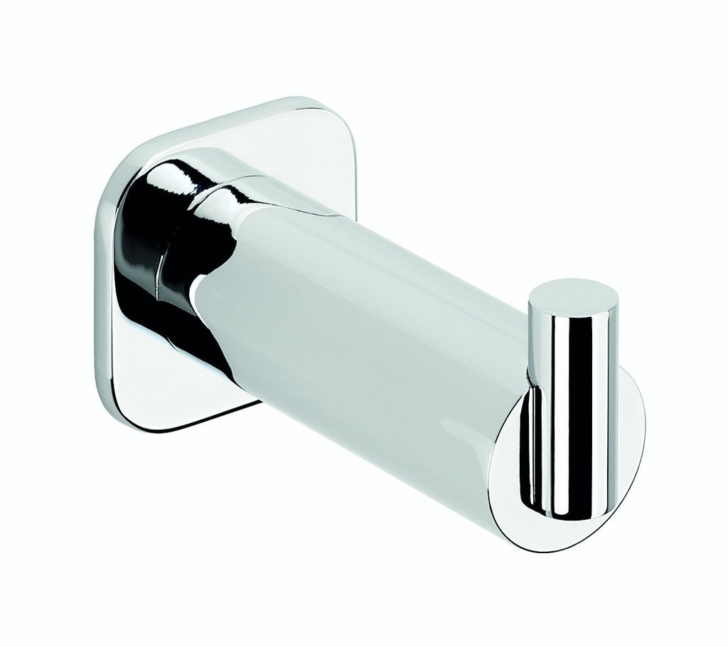 Jenny polished chrome towel hook. Robe hook/hanger