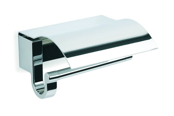 Bilbao chrome toilet paper holder with cover