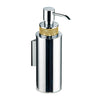 Cecilia wall soap dispenser with Swarovski crystals